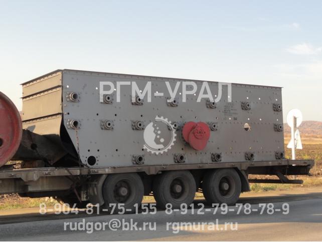 Грохот инерционный тяжелого типа ГИТ-63В черт. ГИТ-63В-00.000