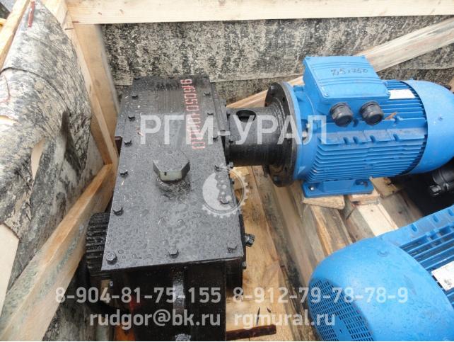 Мотор-редуктор черт. № 916.05.01.0000 для сепаратора ПБМ-150-200