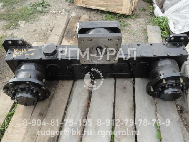 Редуктор черт. № 600.02.01.0001(01) к погрузочно транспортно й машине ПТ-4