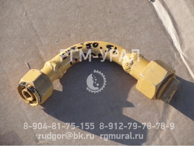 Трубопровод черт. № 525.50.51.0000 для самоходного вагона 5ВС-15М