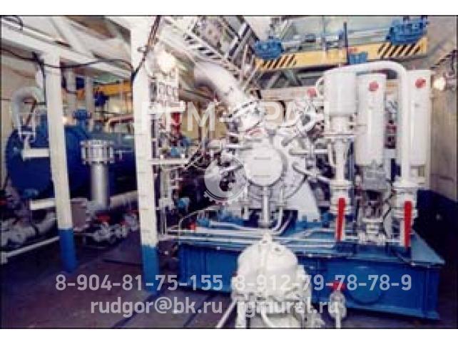 Центробежный компрессор для топливного газа 3ГЦ2-123/4-25 УХЛ4  (для Шахтинской ТЭЦ)