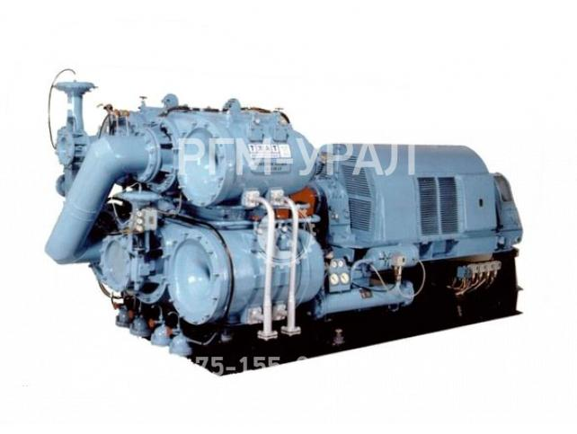Центробежный компрессор с вертикальным разъемом корпуса 5ЦД-43/50-64