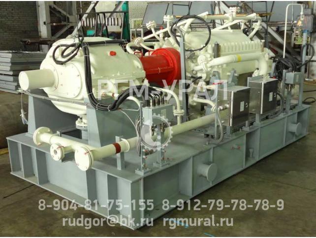 Центробежный компрессор с горизонтальным разъемом корпуса 5ГЦ1-401/12