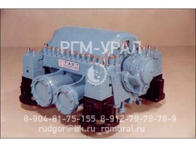 Центробежный компрессор с горизонтальным разъемом корпуса на базе УЦКМ 43ЦКК-250/15 (двухкорпусный)