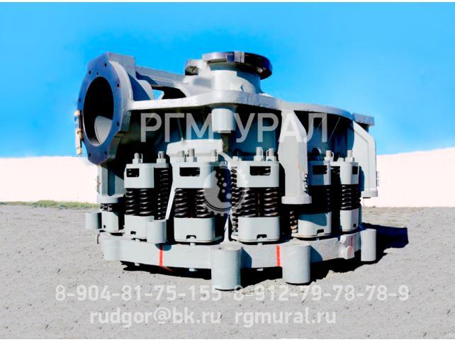 Конусная дробилка КМ КСД-2200 Гр после капремонта