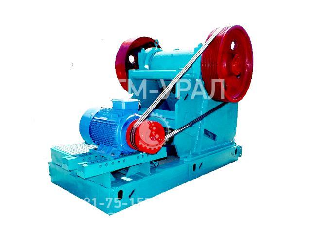 Щековая дробилка СМД-508